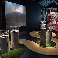 Nature: Suiseki, art de la présentation de pierre - Fujisan de la photographe Corinne Vionnet (2007)