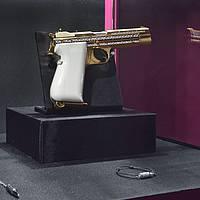 PARURES - Arme de collection Sig Sauer et bijoux Akilis.